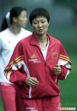 中国女足队员个人资料 刘亚莉
