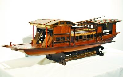 [木雕船模]南湖红船