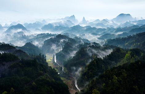 一座佛教圣山