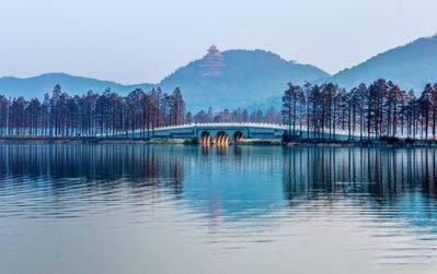 (2)东湖绿道:湖北省武汉市东湖风景区,建议游玩1天.